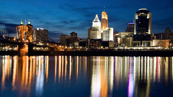 Cincinnati after Sunset