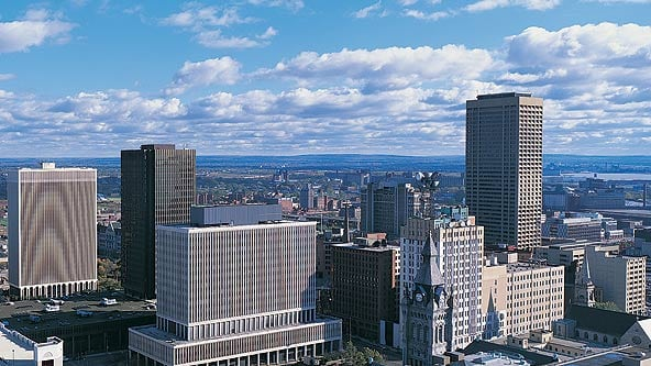 Buffalo Skyscrapers