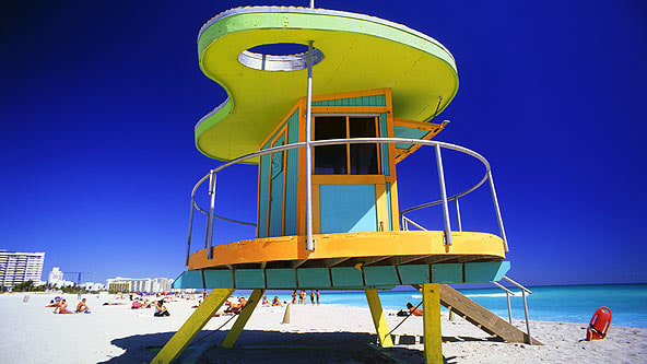 Miami Lifeguard Hut