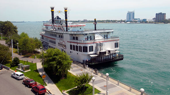 Detroit Princess River Boat