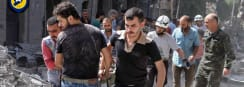 Dozens Dead After Aleppo Airstrikes