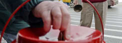 $500,000 Check Found in Salvation Army Kettle