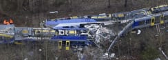 10 Dead, 100 Injured in German Train Crash