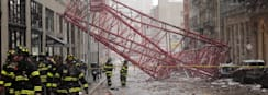 1 Killed in Manhattan Crane Collapse