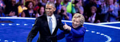 President Obama Formerly Endorses Clinton