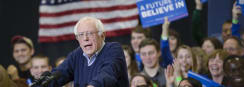 Sanders Leads Poll Into New Hampshire Primary