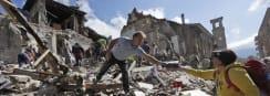Powerful Earthquake Rocks Italy