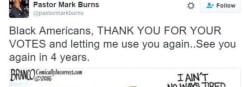 Clinton Blackface Tweet Angers Voters