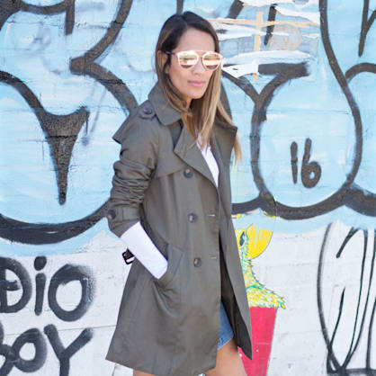 Street style tip of the day: Spring staples
