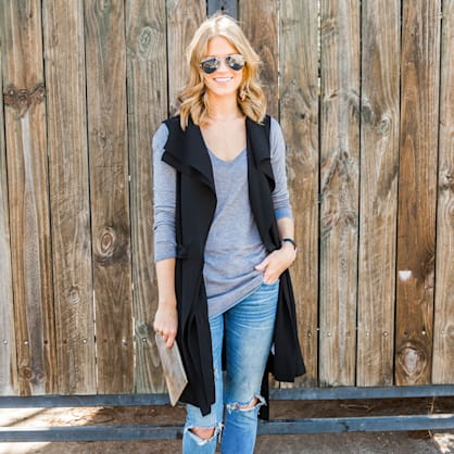 Street style tip of the day: Vested