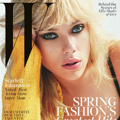 Scarlett Johansson sizzles on the cover of W Magazine