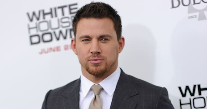 Channing Tatum at the New York Premiere of 'White House Down' on June 25, 2013