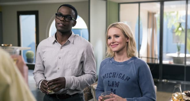 the good place, season 2, renewed, renewal, nbc, kristen bell