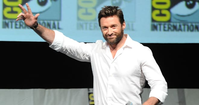 Hugh Jackman at San Diego Comic-Con 2013