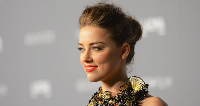 Amber Heard at LACMA 2012 Art + Film Gala on October 27, 2012