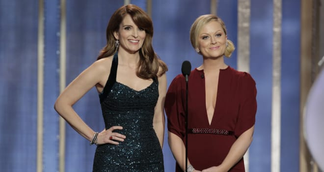 Tina Fey and Amy Poehler Host the 2013 Golden Globe Awards