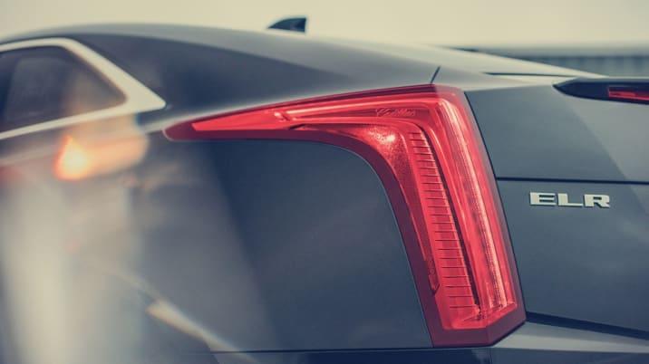 2016 Cadillac ELR taillight
