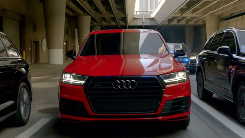 Audi Sq7 Stars In Captain America Civil War Autoblog