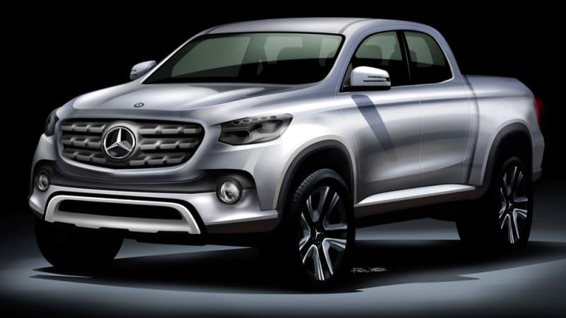 Mercedes pickup could have Nissan DNA