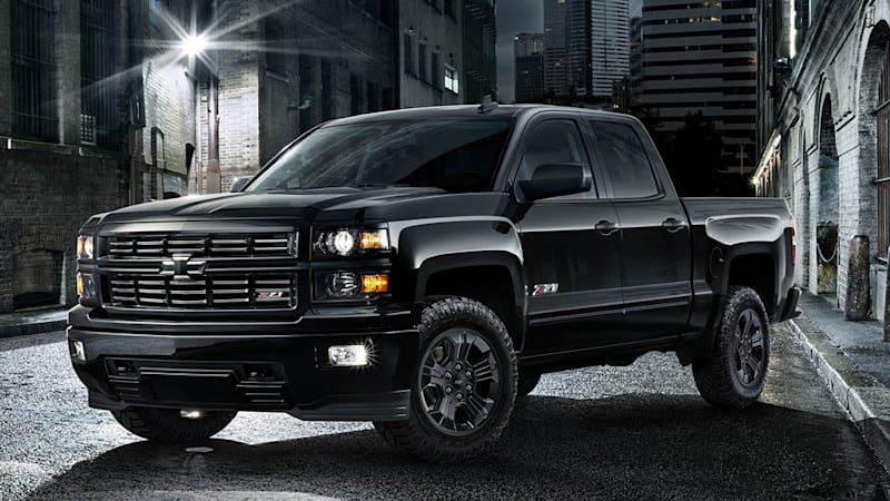 chevy silverado midnight edition coming to chicago autoblog. Black Bedroom Furniture Sets. Home Design Ideas