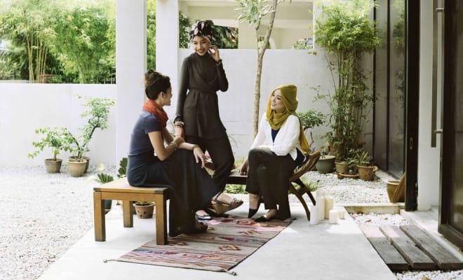 Uniqlo x Hana Tajima fashion blogger collaboration