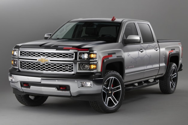 Chevy Silverado Toughnology Concept gets ready for SEMA
