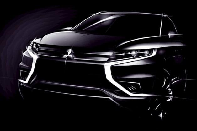 Mitsubishi Outlander PHEV Concept Paris 2014