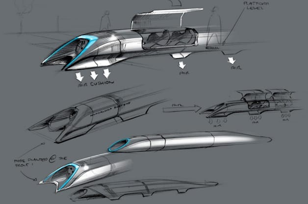 Elon Musk Hyperloop Alpha