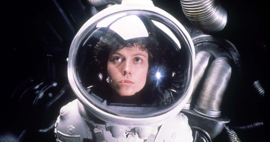 Alien (1979)Directed by Ridley ScottShown: Sigourney Weaver