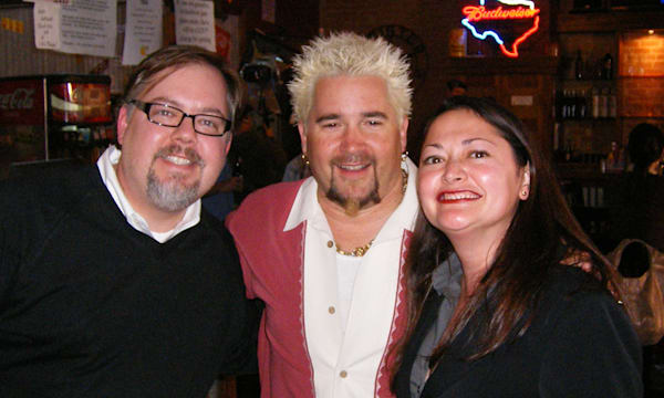 Us with Guy Fieri