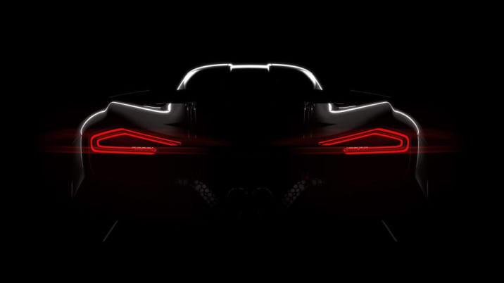 Hennessey Venom F5 teaser rear