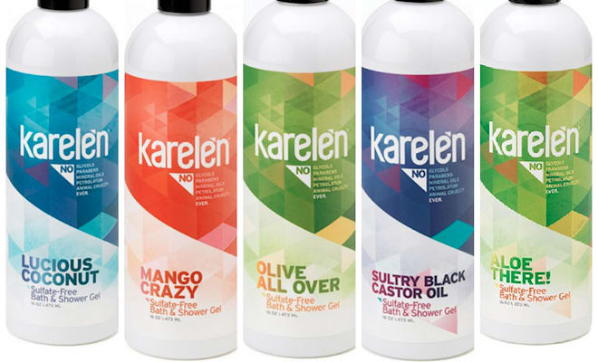 karelen body bath shower gel