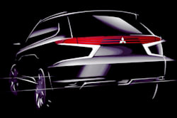 Mitsubishi Outlander PHEV Concept for Paris 2014