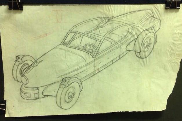 Tucker Carioca Sketch