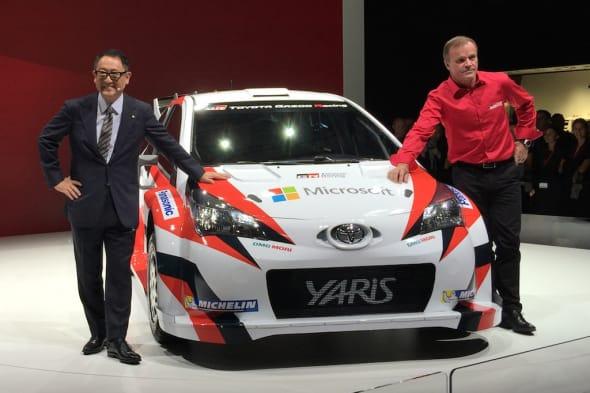 TOYOTA PARIS WRC