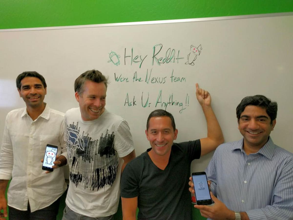 Ask the Nexus 5X and 6P developers anything right now