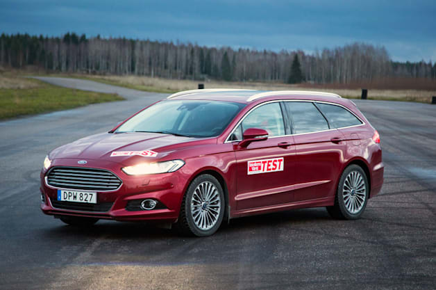 Ford Mondeo Estate test