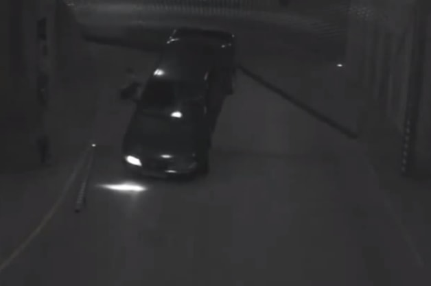 Video: Driver in Iceland taught valuable lesson by parking garage