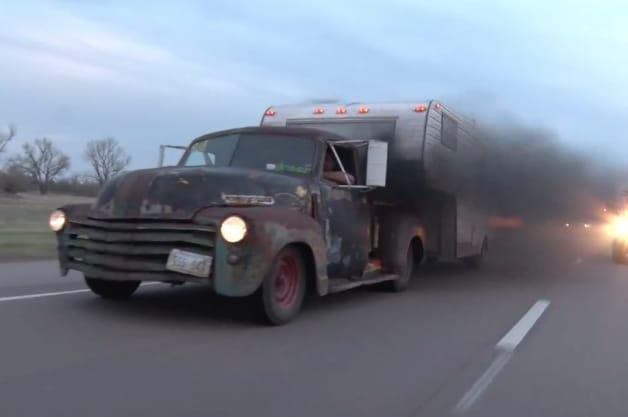 Rat Rod Diesel Pickup