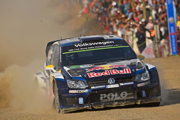 Andreas Mikkelsen (NOR), Ola Fløene (NOR)Volkswagen Polo R WRC (2015)WRC Rally Mexico 2015