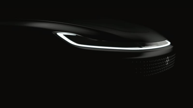 Faraday Future releases teaser of new EV's front end before CES reveal