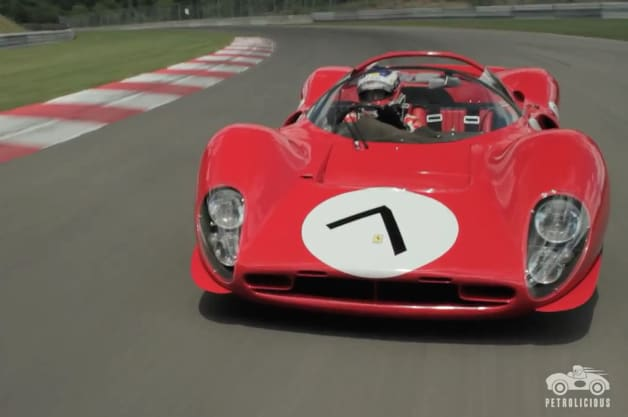ferrari 330 p4 is a stunning red bolide. Black Bedroom Furniture Sets. Home Design Ideas