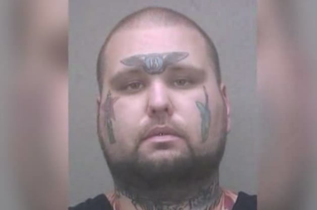 Derek Denesevich Bentley Face Tattoo