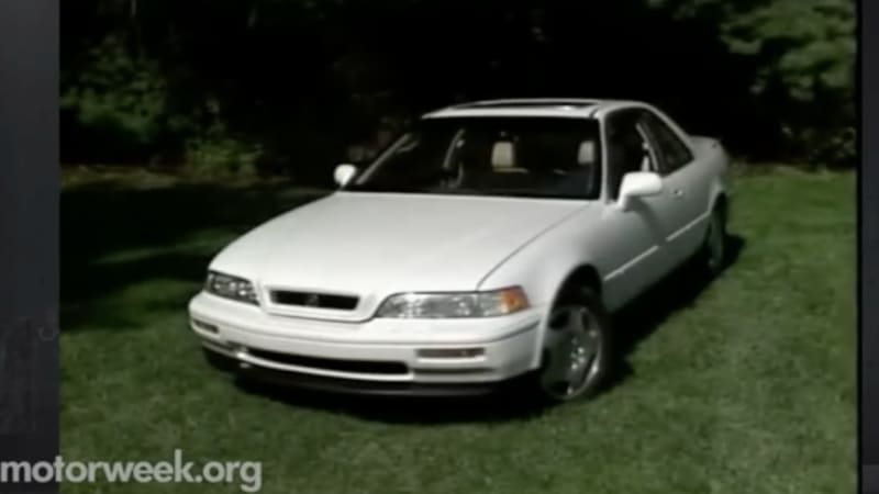 motorweek remembers the 1993 acura legend coupe autoblog. Black Bedroom Furniture Sets. Home Design Ideas