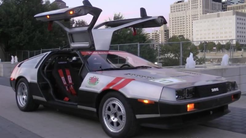 Kia Certified Pre Owned >> Racing DeLorean goes a hell of a lot faster than 88 mph - Autoblog