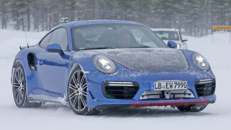 porsche 911 gt2 test mule caught in the snow mazdaspeed forums. Black Bedroom Furniture Sets. Home Design Ideas