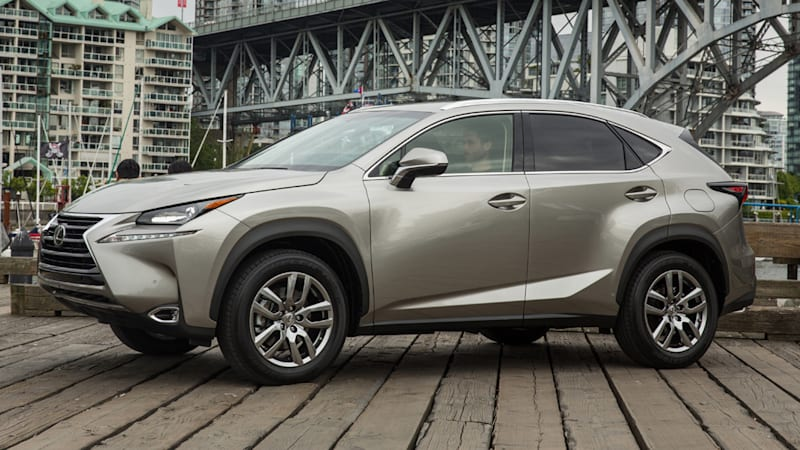 Lexus recalling 3,000 NX 200t CUVs for faulty brake system part