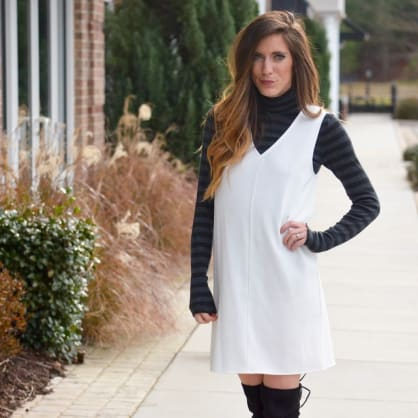 Street style tip of the day: Turtleneck layers