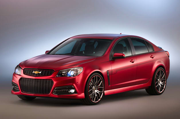 Jeff Gordon SS Performance Sedan Concept