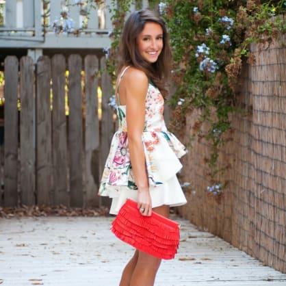 10 fresh ways to wear fall florals